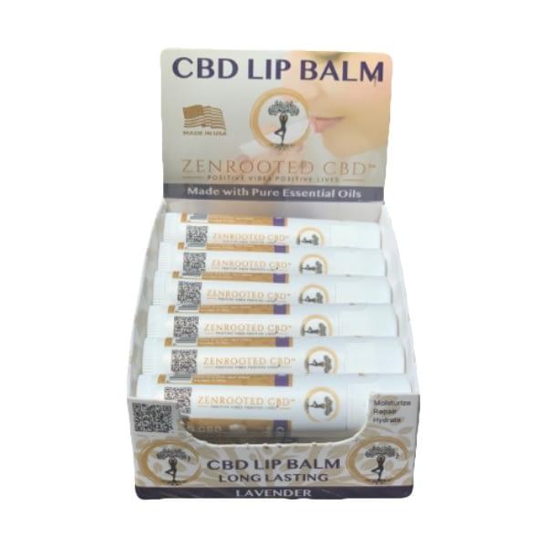 Lavender CBD Lip Balm twelve-pack