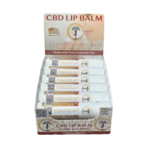 Cinnamon CBD Lip Balm twelve-pack